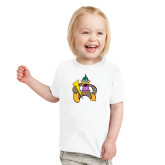 Toddler White T Shirt-Thunderduck