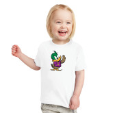 Toddler White T Shirt-Little Thunderduck