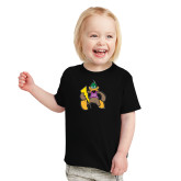 Toddler Black T Shirt-Thunderduck
