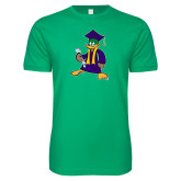 Next Level SoftStyle Kelly Green T Shirt-TD Graduating