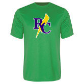 Performance Kelly Green Tee-RC Lightning