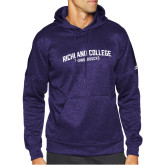 Adidas Purple Team Issue Hoodie-Arched