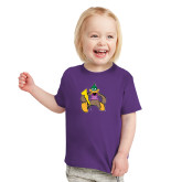 Toddler Purple T Shirt-Thunderduck