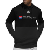 Adidas Black Team Issue Hoodie-Primary Mark - Horizontal