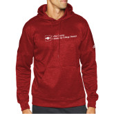 Adidas Red Team Issue Hoodie-Primary Mark - Horizontal