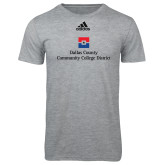 Dallas County Comm Adidas Sport Grey Logo T Shirt-Primary Mark