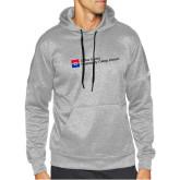 Adidas Grey Team Issue Hoodie-Primary Mark - Horizontal