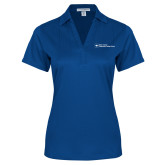 Ladies Royal Performance Fine Jacquard Polo-Primary Mark - Horizontal