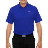 Dallas County Comm Under Armour Royal Performance Polo-Primary Mark - Horizontal