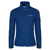Columbia Ladies Full Zip Royal Fleece Jacket-Primary Mark - Horizontal
