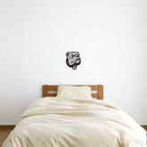 1 ft x 1 ft Fan WallSkinz-Bulldog Head