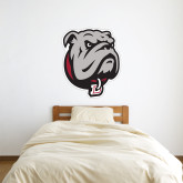 3 ft x 3 ft Fan WallSkinz-Bulldog Head