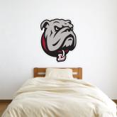 3 ft x 3 ft Fan WallSkinz-Bulldog Head