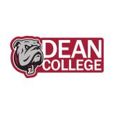 Small Decal-Dean College w/ Bulldog Head, 6 inches wide