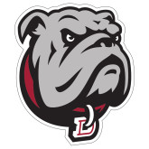 Extra Large Decal-Bulldog Head, 18 inches tall