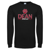 Black Long Sleeve T Shirt-Dean Athletics