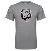 Grey T Shirt-Bulldog Head