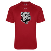 Under Armour Cardinal Tech Tee-Bulldog Head