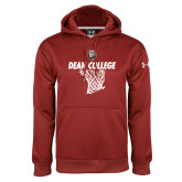 Under Armour Cardinal Performance Sweats Team Hoodie-Basketball Net Design