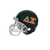 Riddell Replica Black Mini Helmet-Greek Letters