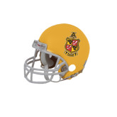 Riddell Replica Gold Mini Helmet-Contemporary Coat Of Arms