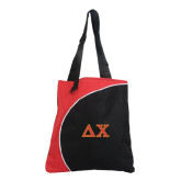 Lunar Red Convention Tote-Greek Letters