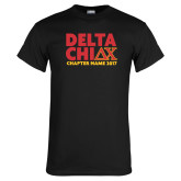 Black T Shirt-DELTA CHI Chapter