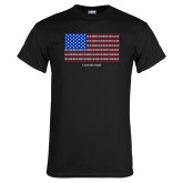 Black T Shirt-Flag Chapter