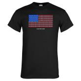 Black T Shirt-Flag Chapter