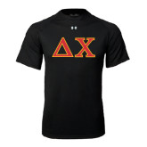Under Armour Black Tech Tee-Greek Letters