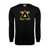 Black Long Sleeve TShirt-Badge