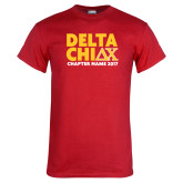 Red T Shirt-DELTA CHI Chapter