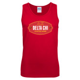 Red Tank Top-Chapter Badge