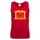 Red Tank Top-Chapter on Steps