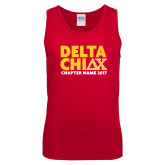 Red Tank Top-DELTA CHI Chapter