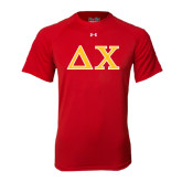 Under Armour Red Tech Tee-Greek Letters
