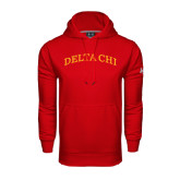 Under Armour Red Performance Sweats Team Hoodie-Arched Delta Chi