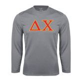 Syntrel Performance Steel Longsleeve Shirt-Greek Letters