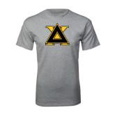 Sport Grey T Shirt-Badge