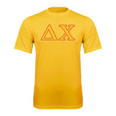 Syntrel Performance Gold Tee-Greek Letters