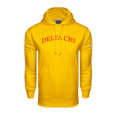 Under Armour Gold Performance Sweats Team Hoodie-Arched Delta Chi