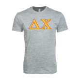 Next Level SoftStyle Heather Grey T Shirt-Greek Letters
