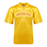 Replica Gold Adult Football Jersey-Arched Delta Chi