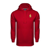 Under Armour Cardinal Performance Sweats Team Hoodie-Legacy Coat Of Arms