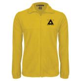 Fleece Full Zip Gold Jacket-Badge
