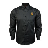 Red House Black Long Sleeve Shirt-Contemporary Coat Of Arms