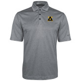 Nike Golf Dri Fit Charcoal Heather Polo-Badge