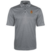 Nike Golf Dri Fit Charcoal Heather Polo-Contemporary Coat Of Arms