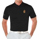 Callaway Opti Vent Black Polo-Contemporary Coat Of Arms