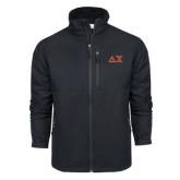 Columbia Ascender Softshell Black Jacket-Greek Letters